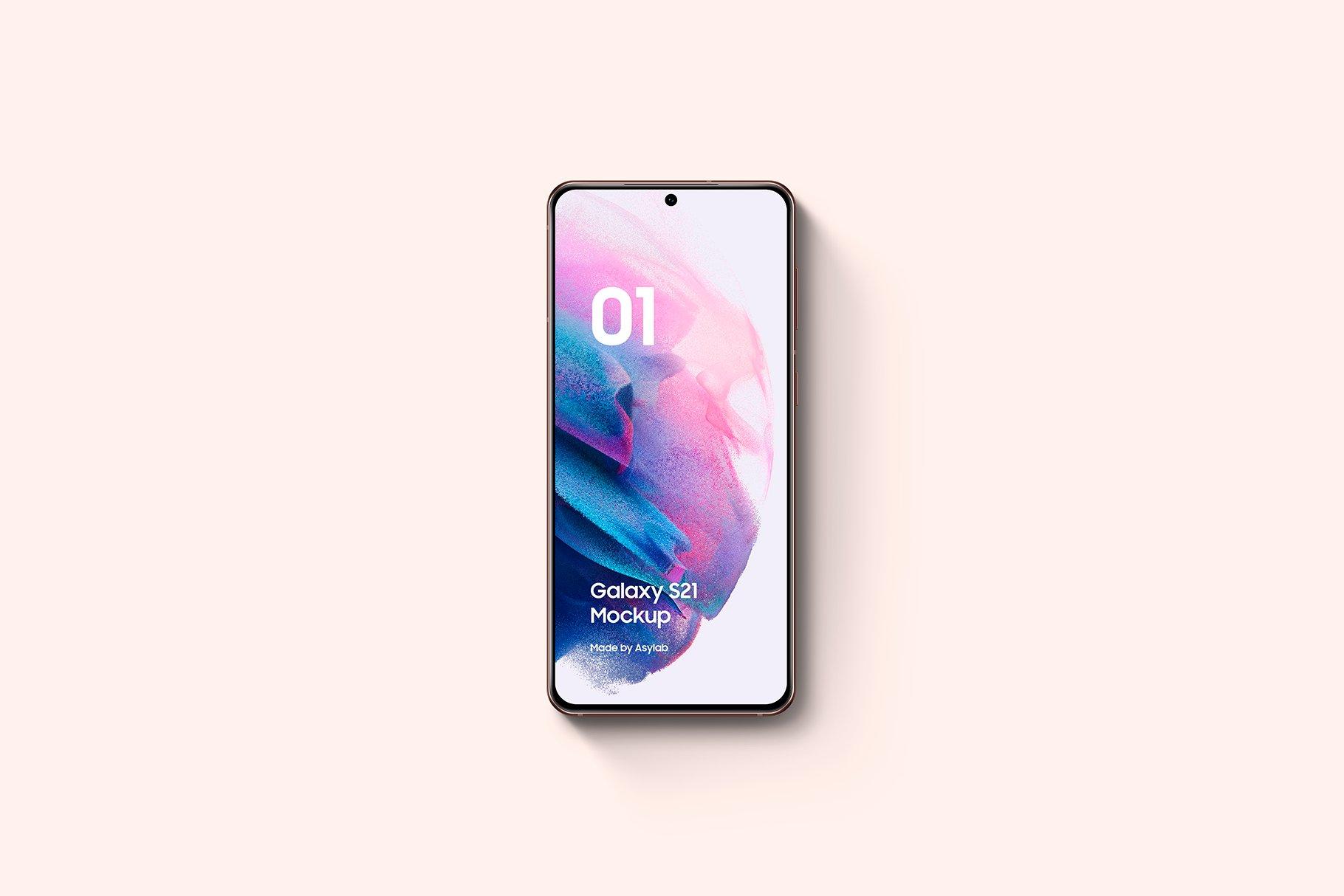 [单独购买] 20款三星Galaxy S21手机网站APP界面设计演示样机模板套件 Galaxy S21 – 20 Mockups Scenes插图26