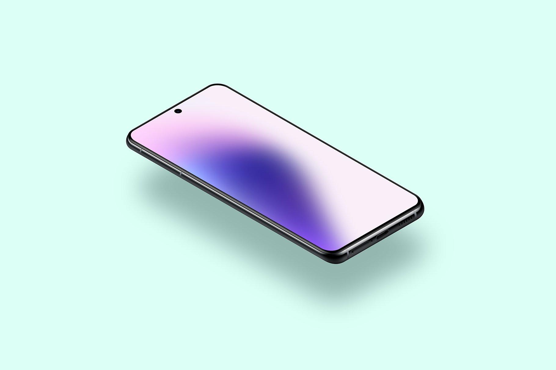 [单独购买] 20款三星Galaxy S21手机网站APP界面设计演示样机模板套件 Galaxy S21 – 20 Mockups Scenes插图30