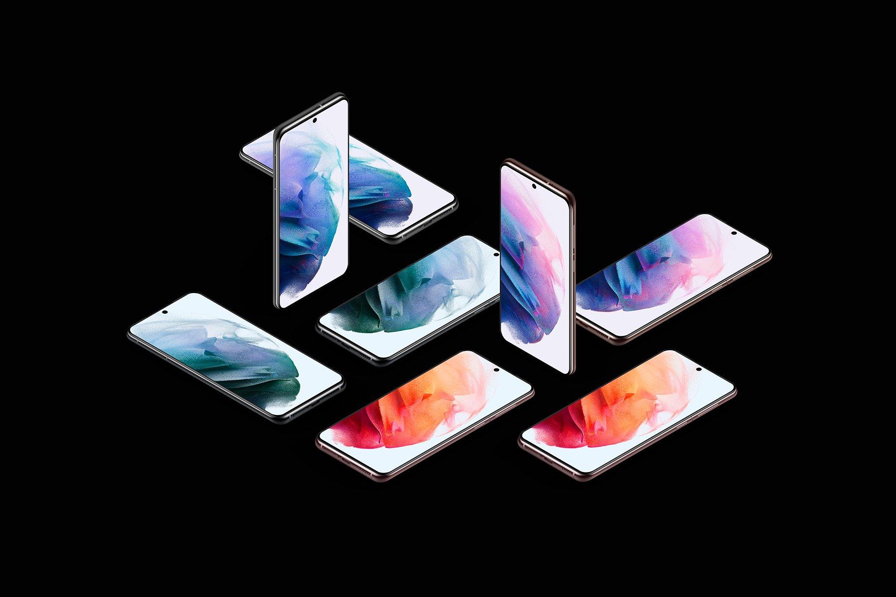 [单独购买] 20款三星Galaxy S21手机网站APP界面设计演示样机模板套件 Galaxy S21 – 20 Mockups Scenes插图33
