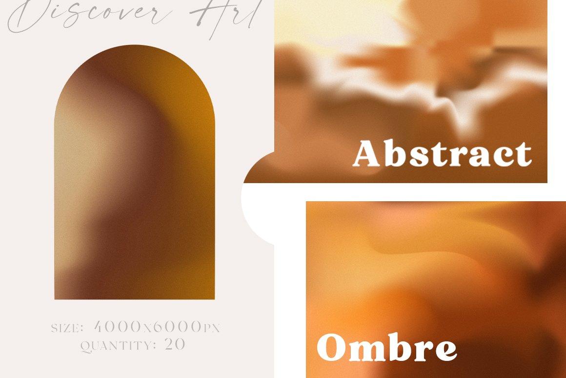 [单独购买] 20款抽象复古模糊渐变颗粒噪点装饰背景纹理图片设计素材 Gradient Ombre Blur Textures插图2