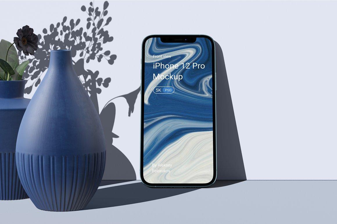 [单独购买] 15个超清前视图网页APP界面设计苹果设备屏幕演示样机 Device Pack Mockups – Front View插图2