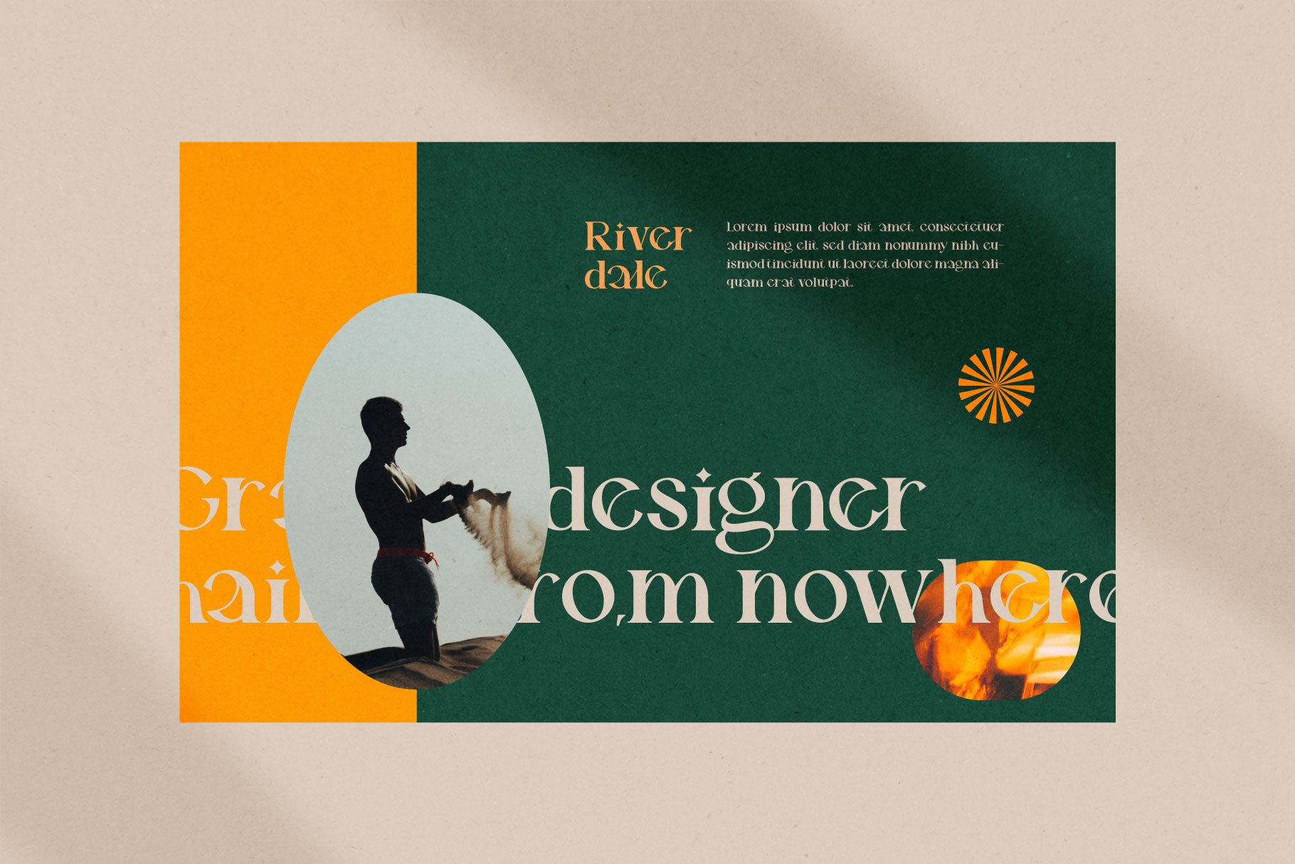 时尚优雅品牌Logo海报标题设计衬线英文字体素材 Riverdale Serif Font插图2