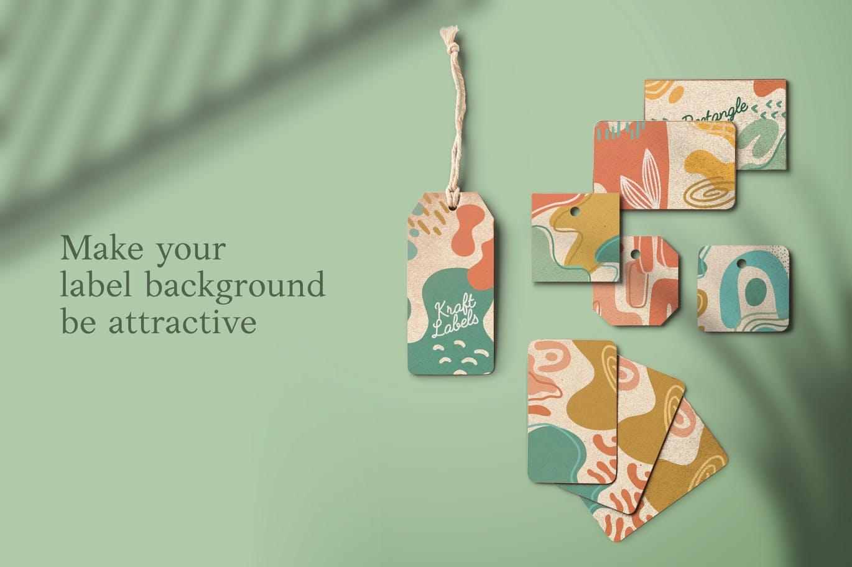 15款高清抽象品牌包装设计背景图片素材 Luxuria – Abstract Background插图2