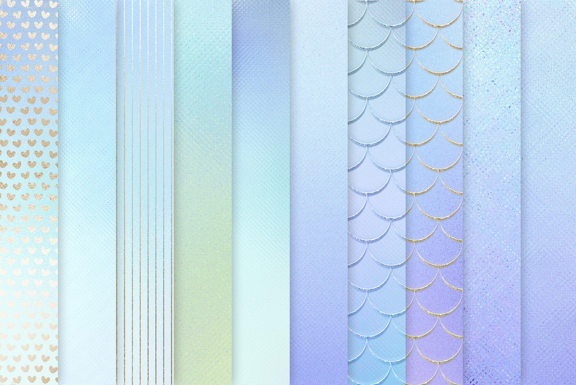 20款虹彩金色纹理海报设计背景图片素材 Iridescent Gold Textures插图2