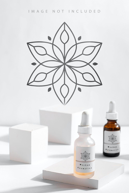 6款药物化妆品滴管瓶设计展示贴图样机合集 Dropper Bottle Mockup Set插图2