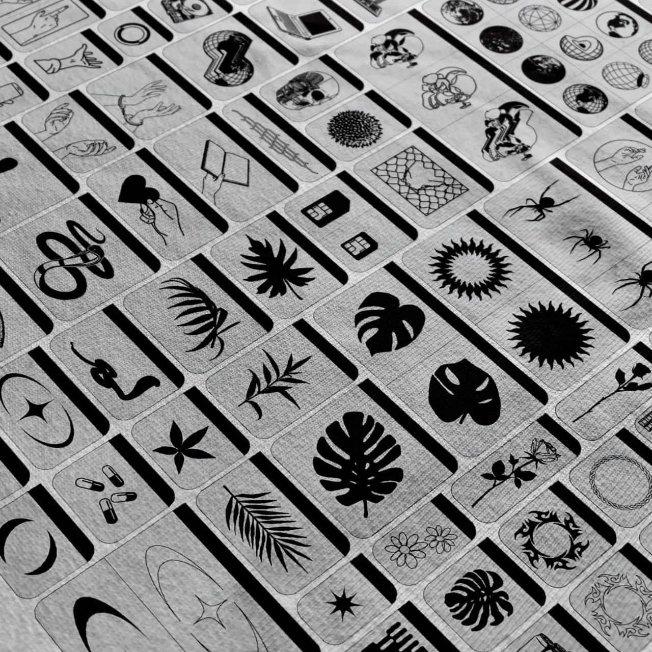 [单独购买] 124款潮流贴纸图标徽标Logo设计矢量素材套装 Studio Innate – Elements 000插图