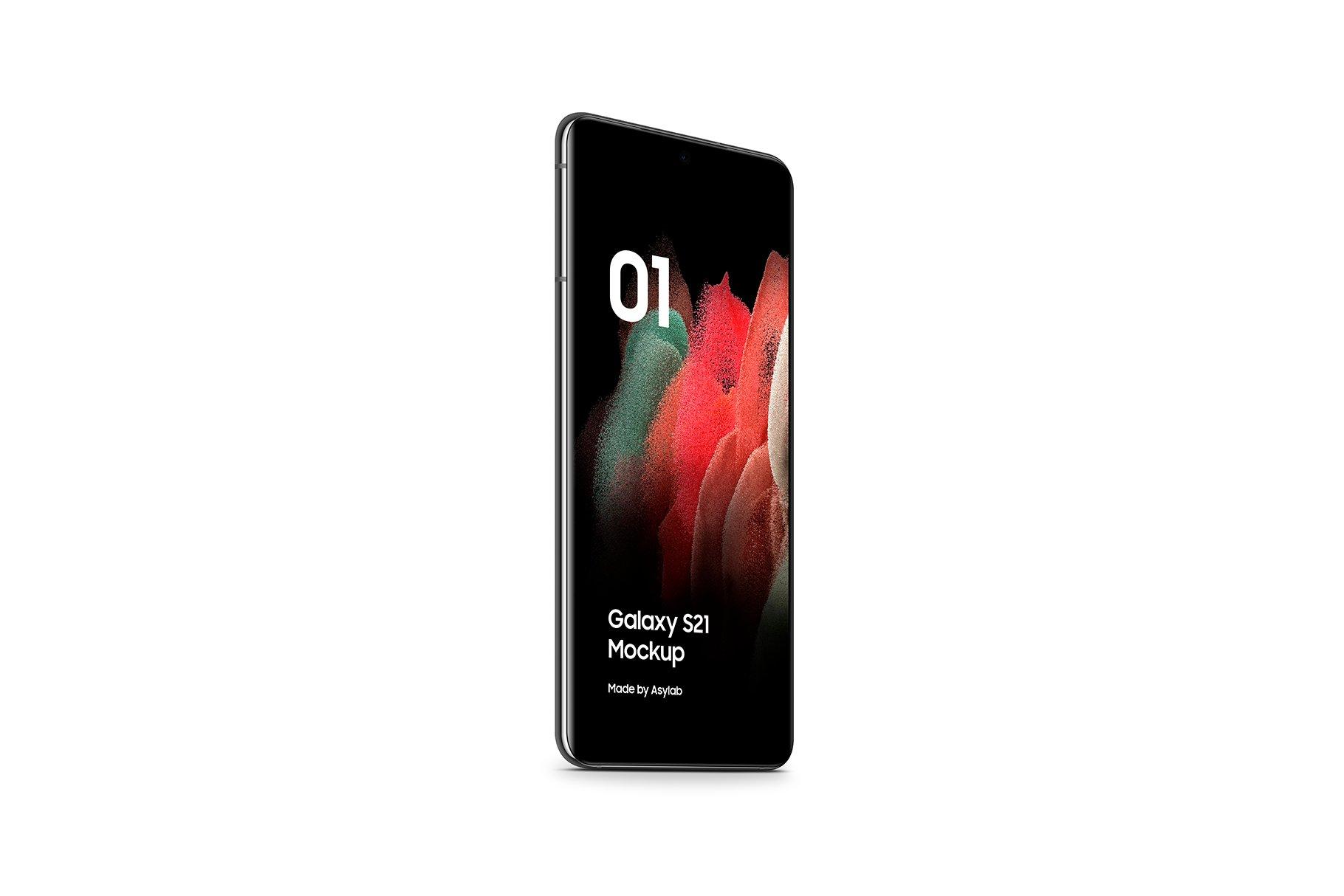 [单独购买] 20款三星Galaxy S21手机网站APP界面设计演示样机模板套件 Galaxy S21 – 20 Mockups Scenes插图35