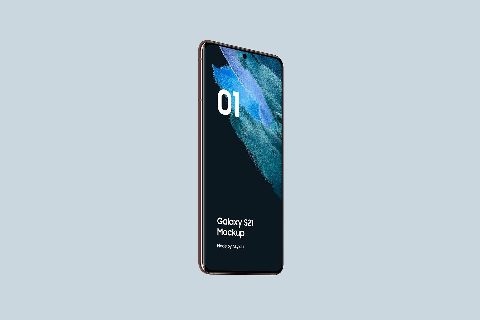 [单独购买] 20款三星Galaxy S21手机网站APP界面设计演示样机模板套件 Galaxy S21 – 20 Mockups Scenes插图36