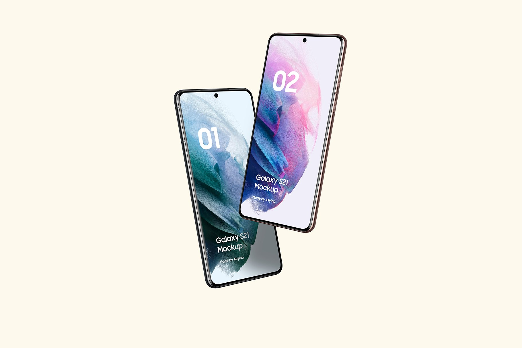 [单独购买] 20款三星Galaxy S21手机网站APP界面设计演示样机模板套件 Galaxy S21 – 20 Mockups Scenes插图38