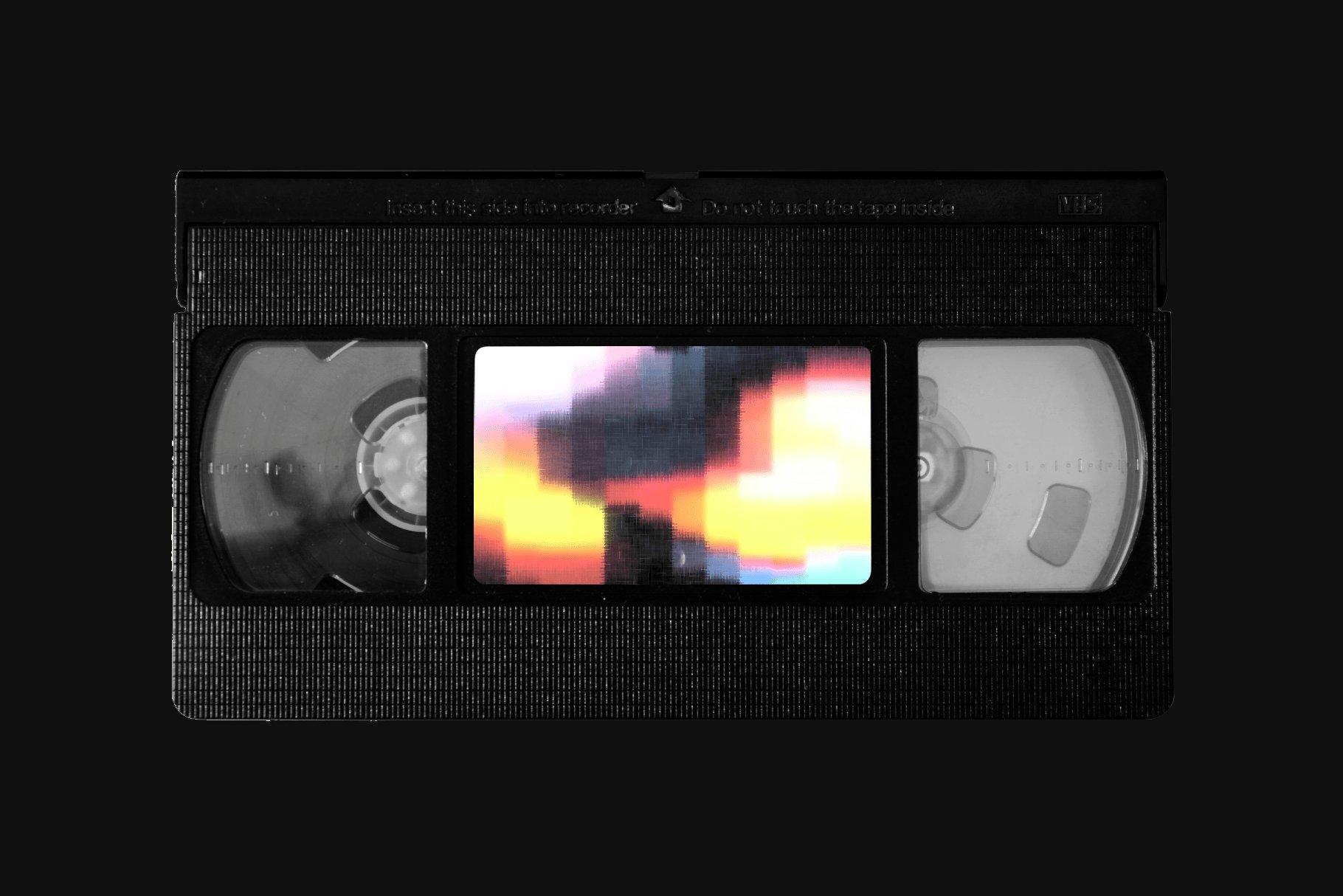 [单独购买] 潮流故障颗粒网格渐变VHS样式纹理背景图片视频设计素材套装 Studio 2am – Sensory – Retro Animated Textures插图3