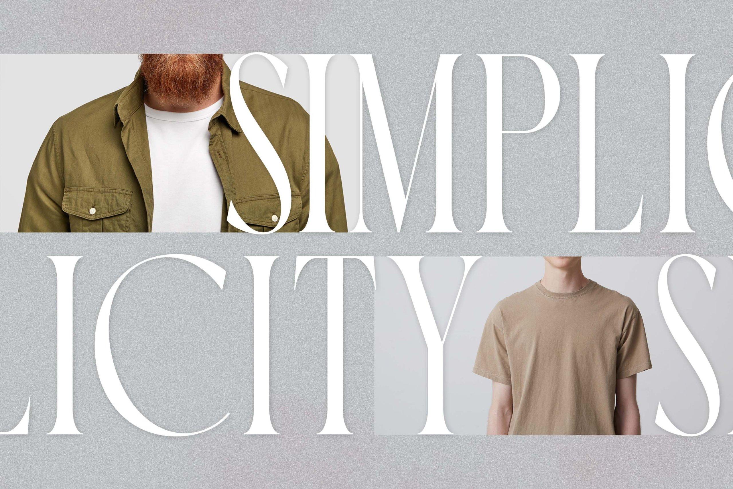 时尚极简现代品牌Logo标题衬线英文字体设计素材 Luxoorea – Stylish Display Serif插图3