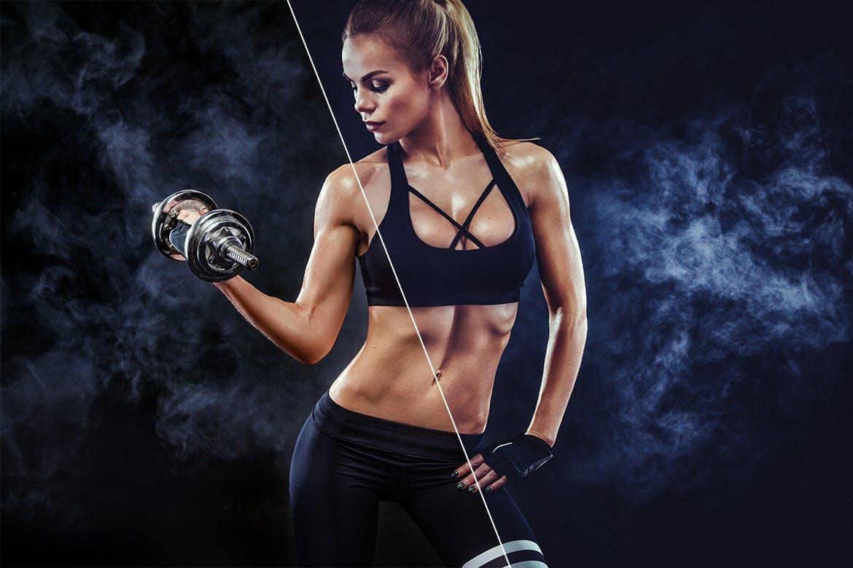 50款运动健身摄影照片调色滤镜LR预设模板 50 Fitness Lightroom Presets插图3
