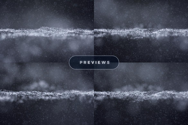 11个抽象白色粒子纹理海报设计背景底纹图片素材 Abstract White Particles Background插图3
