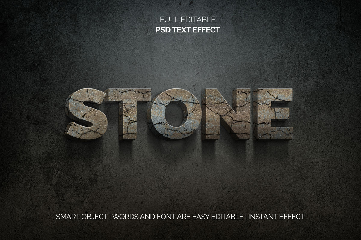 28款3D立体品牌包装海报标题Logo设计PS文本样式素材 28 Photoshop Text Styles Effects Collection插图21