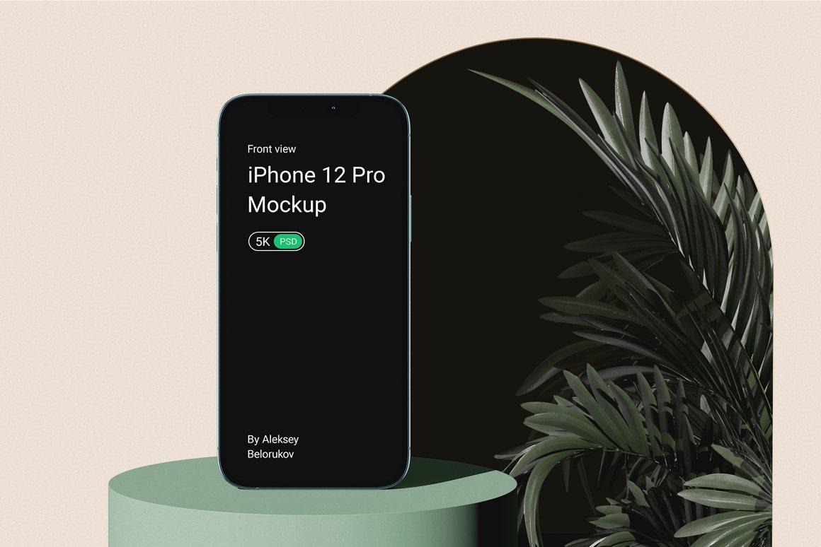 [单独购买] 15个超清前视图网页APP界面设计苹果设备屏幕演示样机 Device Pack Mockups – Front View插图4