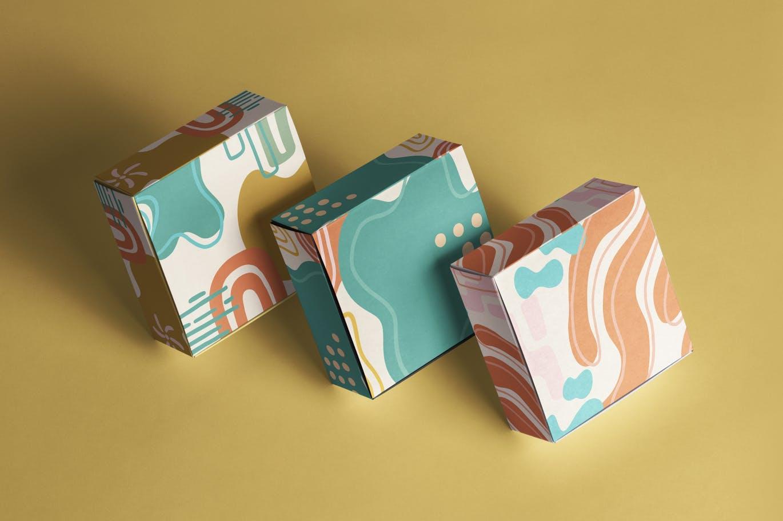 15款高清抽象品牌包装设计背景图片素材 Luxuria – Abstract Background插图4