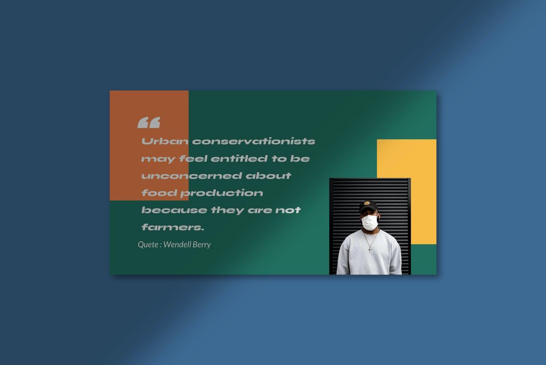 简约摄影作品集设计演示文稿模板 Jacelyn Powerpoint Template插图5