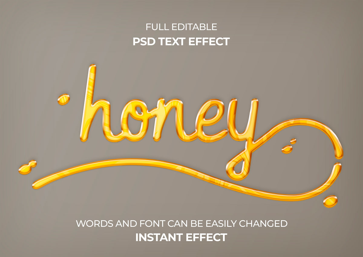28款3D立体品牌包装海报标题Logo设计PS文本样式素材 28 Photoshop Text Styles Effects Collection插图2