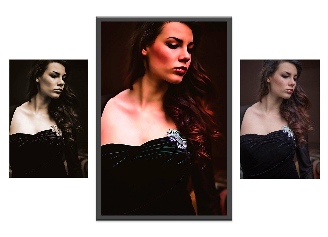 逼真油画效果照片处理特效PS动作模板素材 Pro Oil Art Photoshop Action插图6