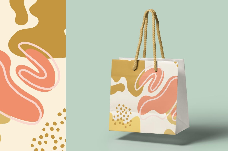 15款高清抽象品牌包装设计背景图片素材 Luxuria – Abstract Background插图5
