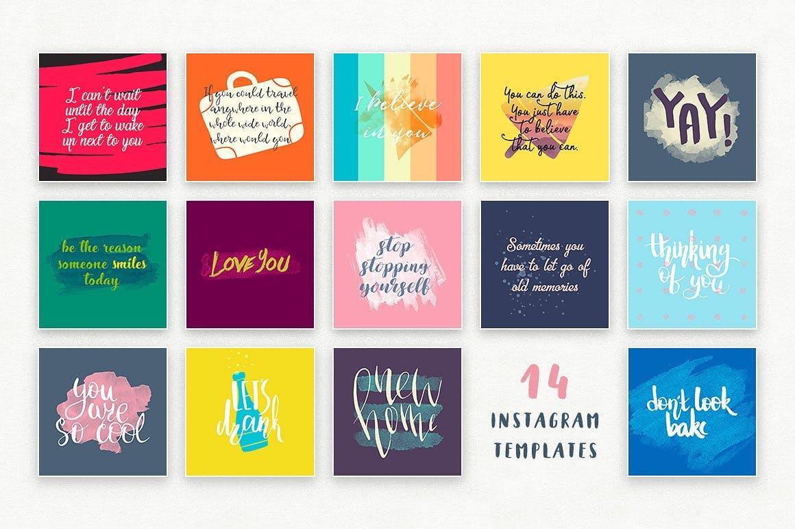 可爱平面广告服装印花图案设计矢量设计素材套装 Aqua Mellon Artistic Toolkit插图5