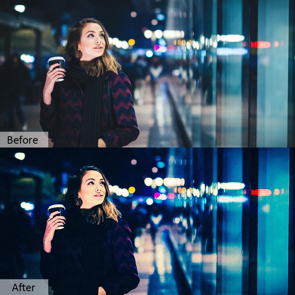 70款夜生活摄影照片调色滤镜PS动作模板 Night Life Photoshop Actions插图9