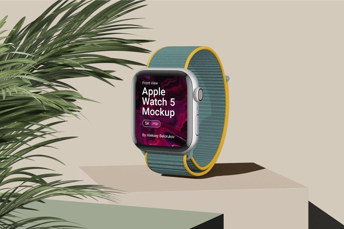 [单独购买] 15个超清前视图网页APP界面设计苹果设备屏幕演示样机 Device Pack Mockups – Front View插图6