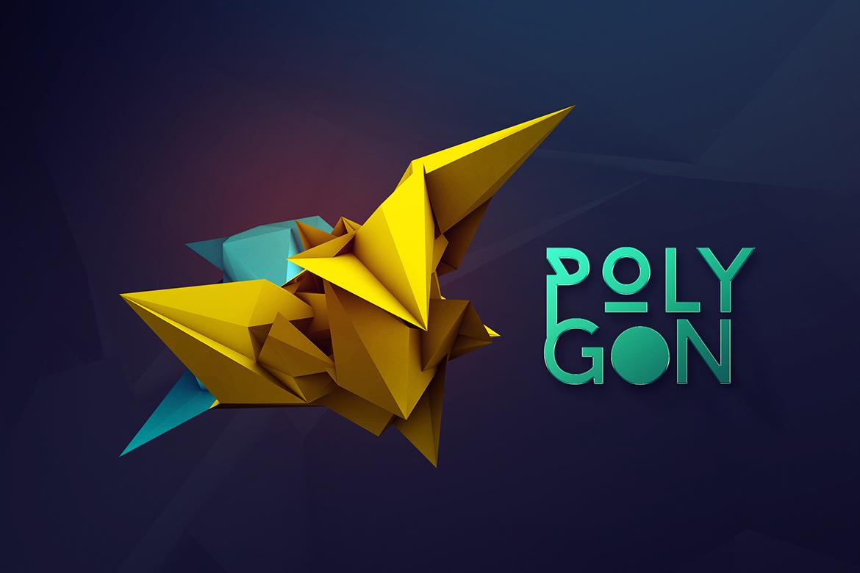 34款3D渲染抽象几何图形PNG透明图片素材 3D Geometric Polygon Renders插图6