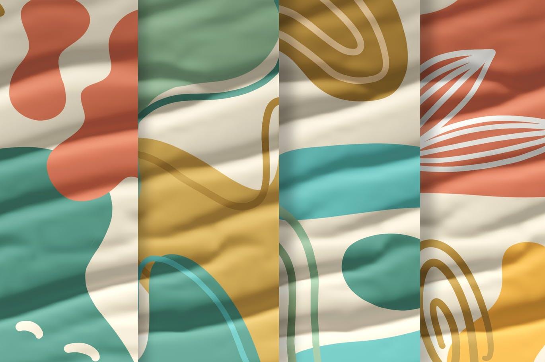 15款高清抽象品牌包装设计背景图片素材 Luxuria – Abstract Background插图6