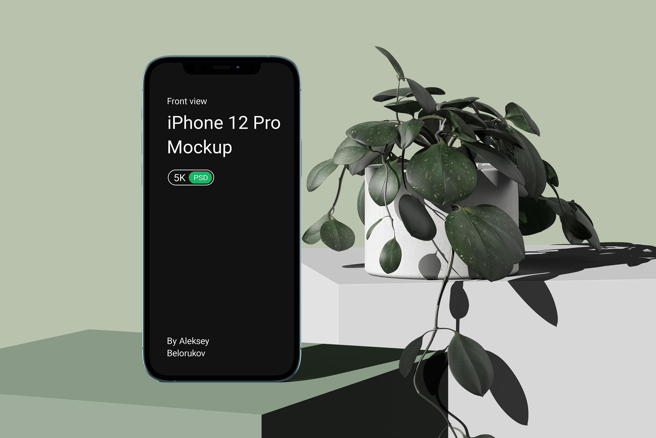 [单独购买] 15个超清前视图网页APP界面设计苹果设备屏幕演示样机 Device Pack Mockups – Front View插图8