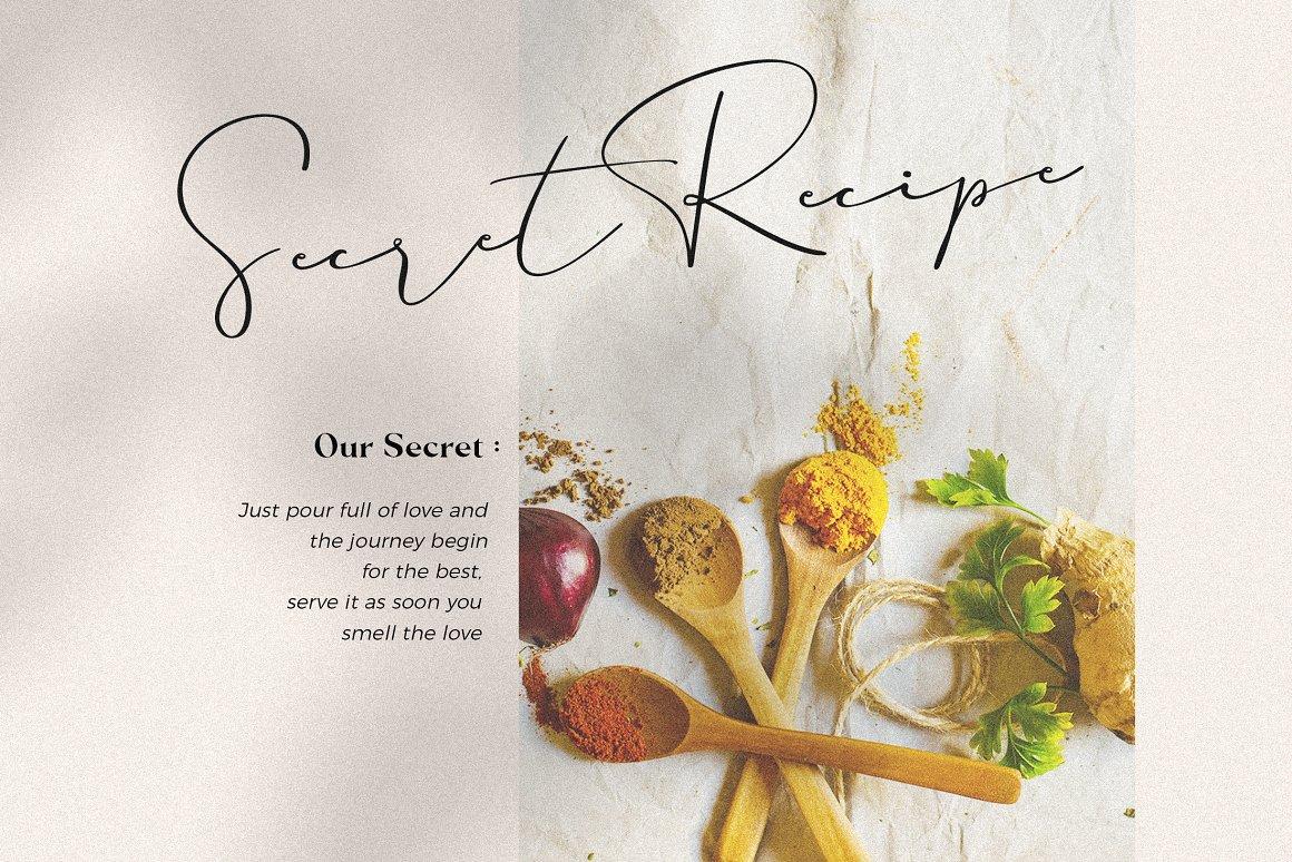 现代奢华海报标题品牌徽标Logo设计衬线英文字体素材 Carphe – Modern Luxury Font插图4