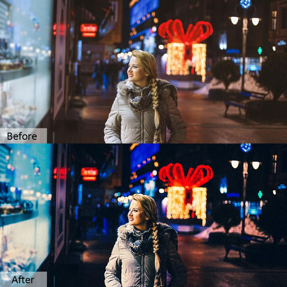 70款夜生活摄影照片调色滤镜PS动作模板 Night Life Photoshop Actions插图3