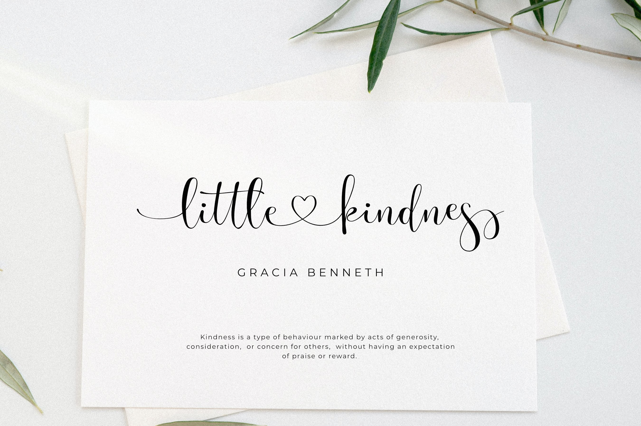 时尚优雅海报标题品牌Logo设计手写英文字体素材 Olivia James – Chic Font插图6