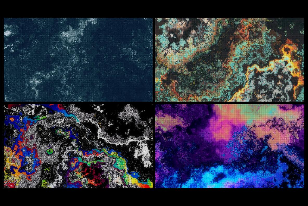 [单独购买] 24款潮流液体油漆流体纹理海报设计背景图片素材 Tharanas Chuaychoo – Liquid 001插图3
