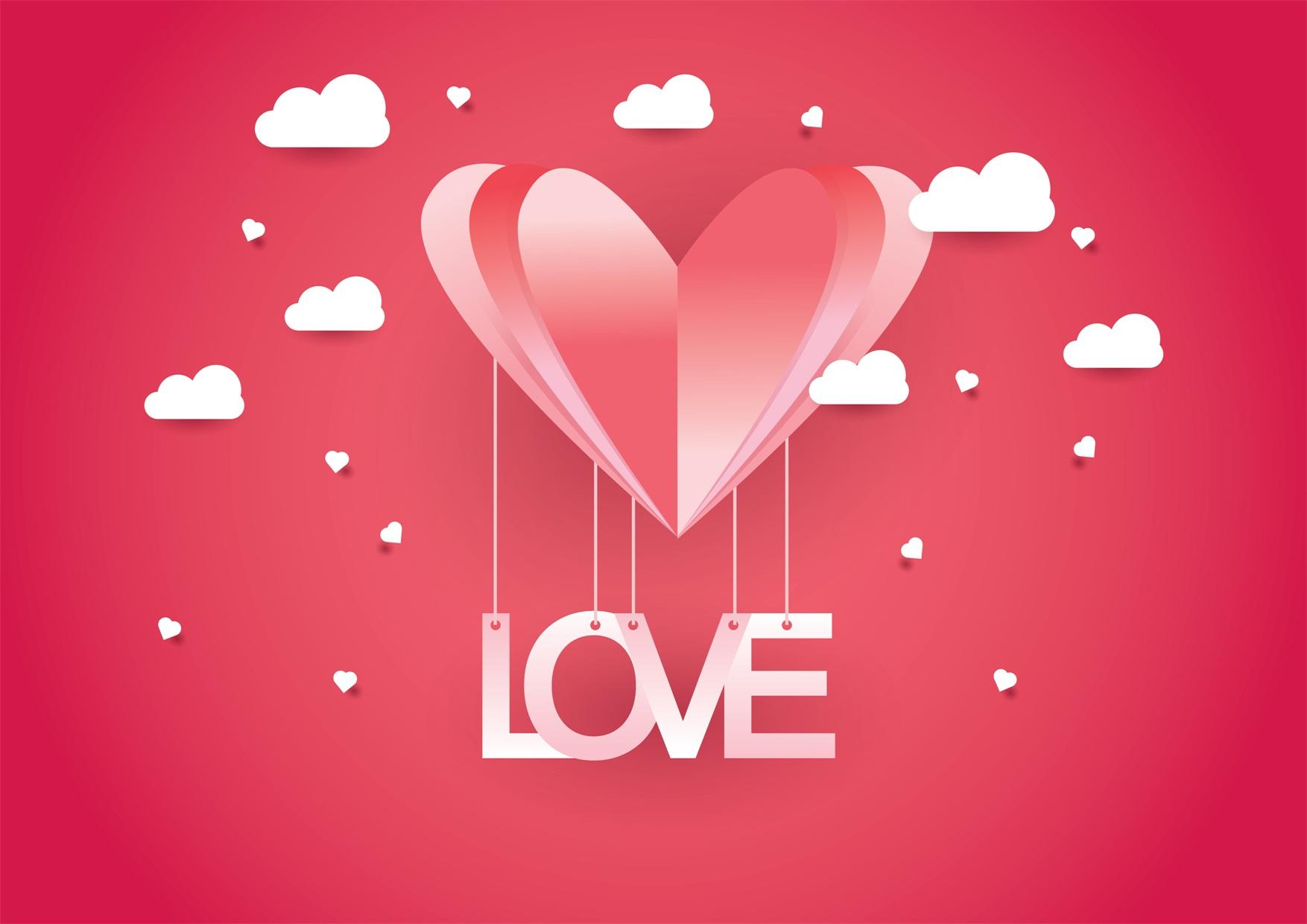 22款情人节七夕节购物促销海报传单设计AI矢量素材 Valentines day Poster Vector Material插图10