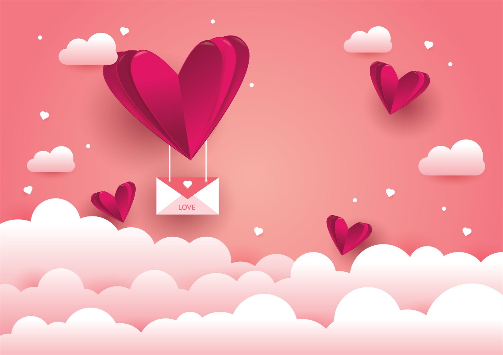 22款情人节七夕节购物促销海报传单设计AI矢量素材 Valentines day Poster Vector Material插图11