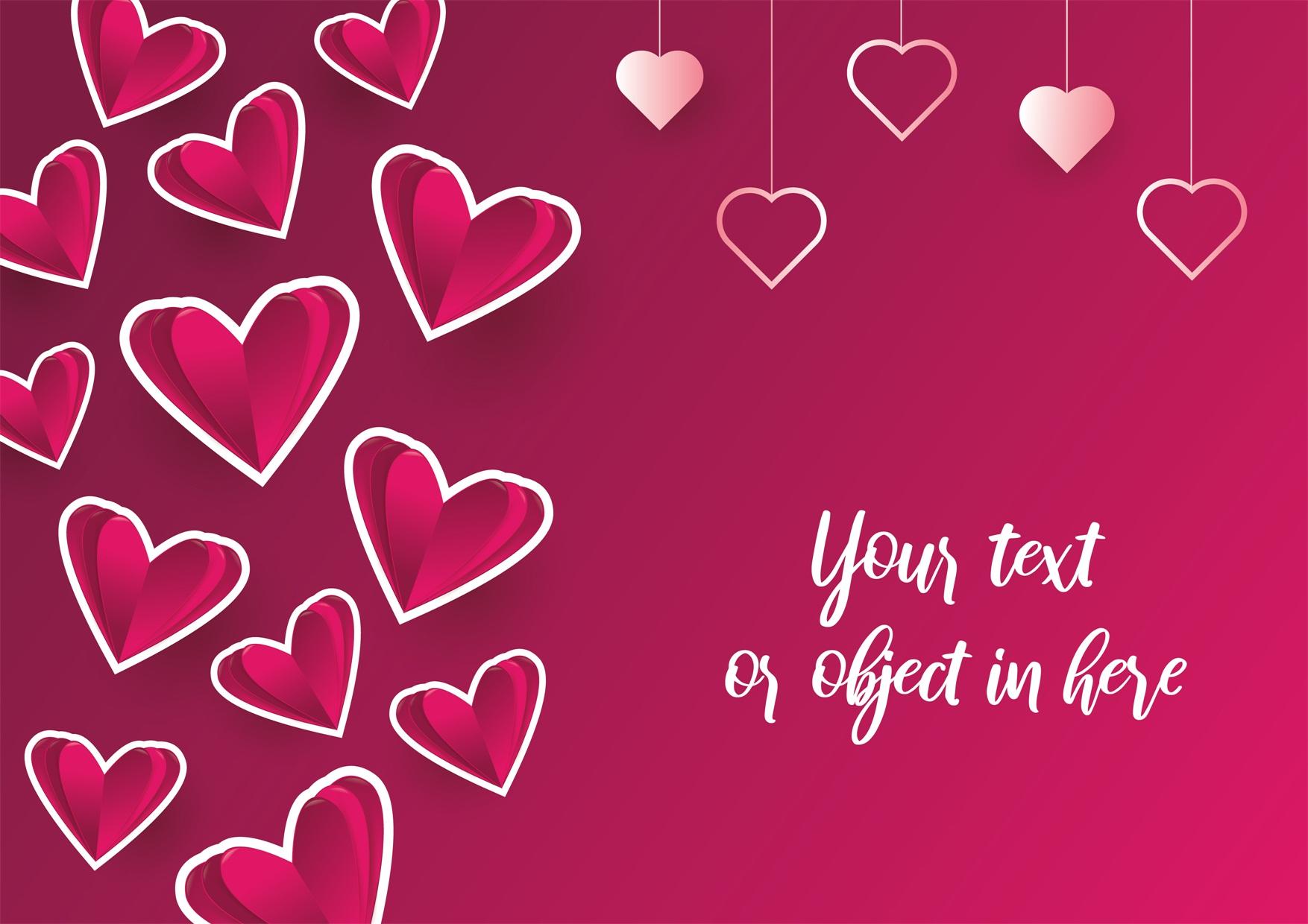 22款情人节七夕节购物促销海报传单设计AI矢量素材 Valentines day Poster Vector Material插图12