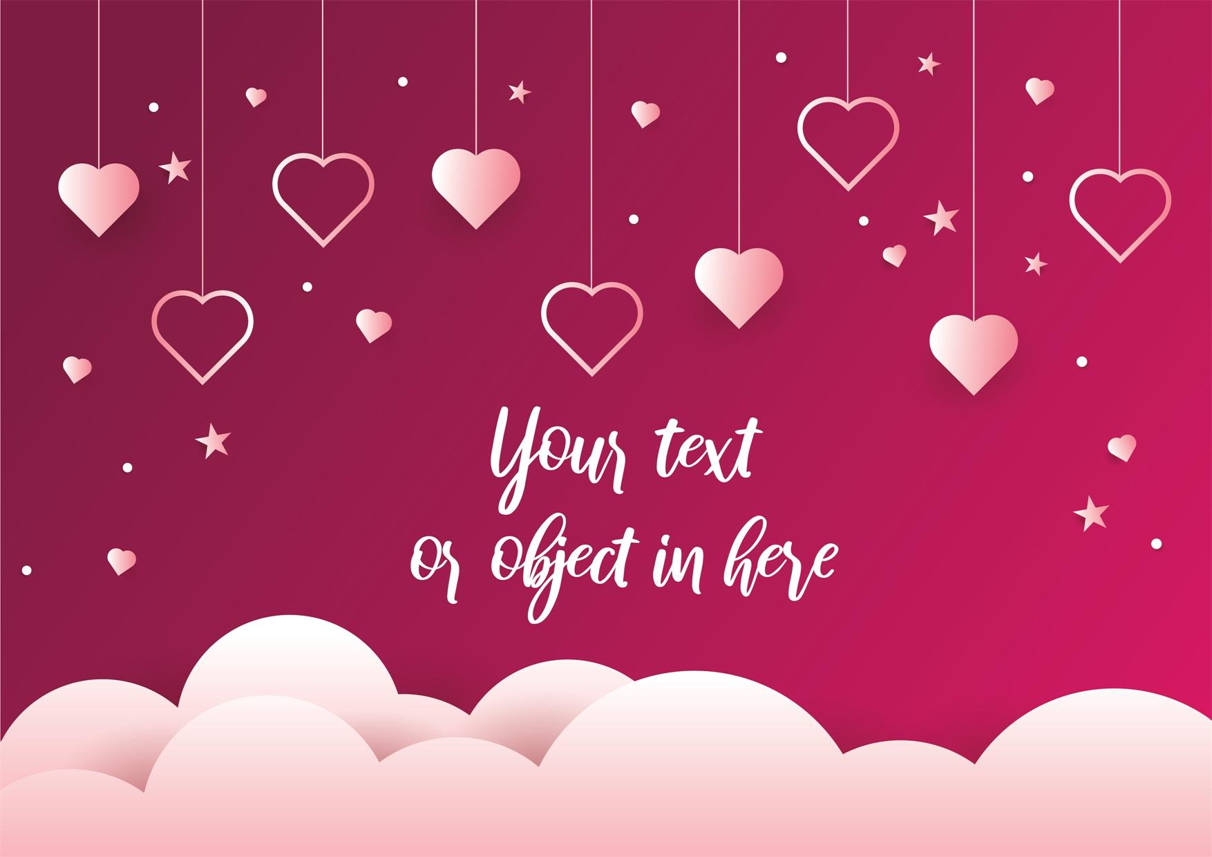 22款情人节七夕节购物促销海报传单设计AI矢量素材 Valentines day Poster Vector Material插图13