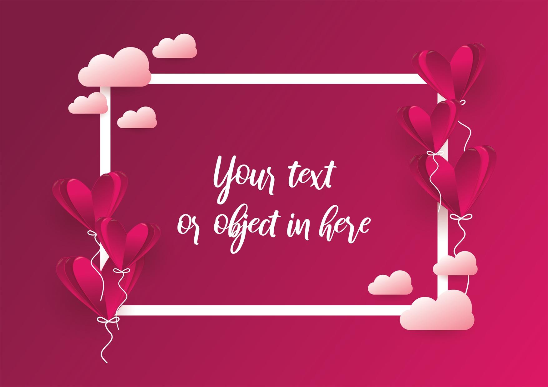 22款情人节七夕节购物促销海报传单设计AI矢量素材 Valentines day Poster Vector Material插图19