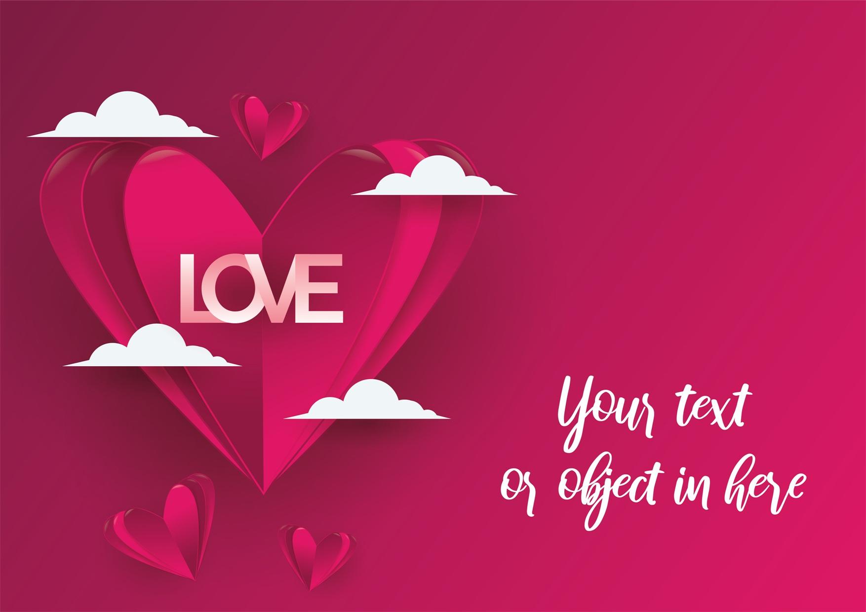 22款情人节七夕节购物促销海报传单设计AI矢量素材 Valentines day Poster Vector Material插图20