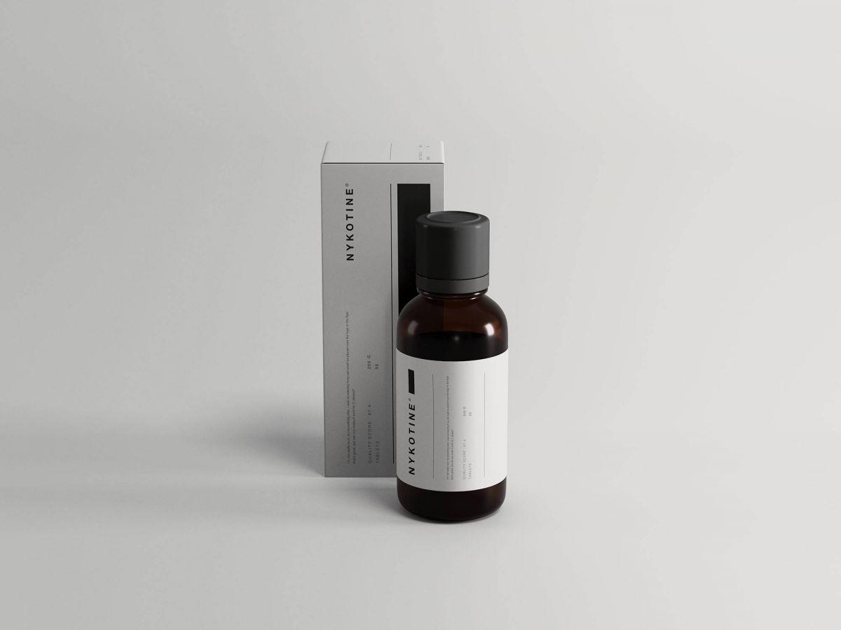 Medicine-Bottle-and-Box-Packaging-Mockup