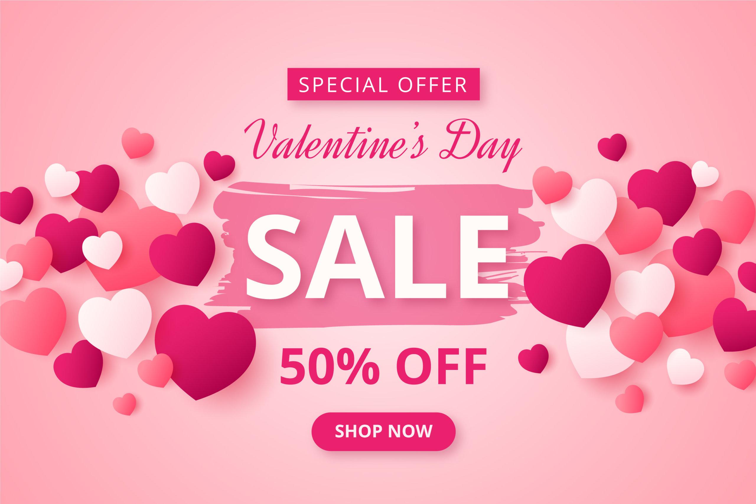 16款七夕节情人节爱心心形公益慈善海报传单AI设计素材 Valentines Day Love Promotion Poster插图