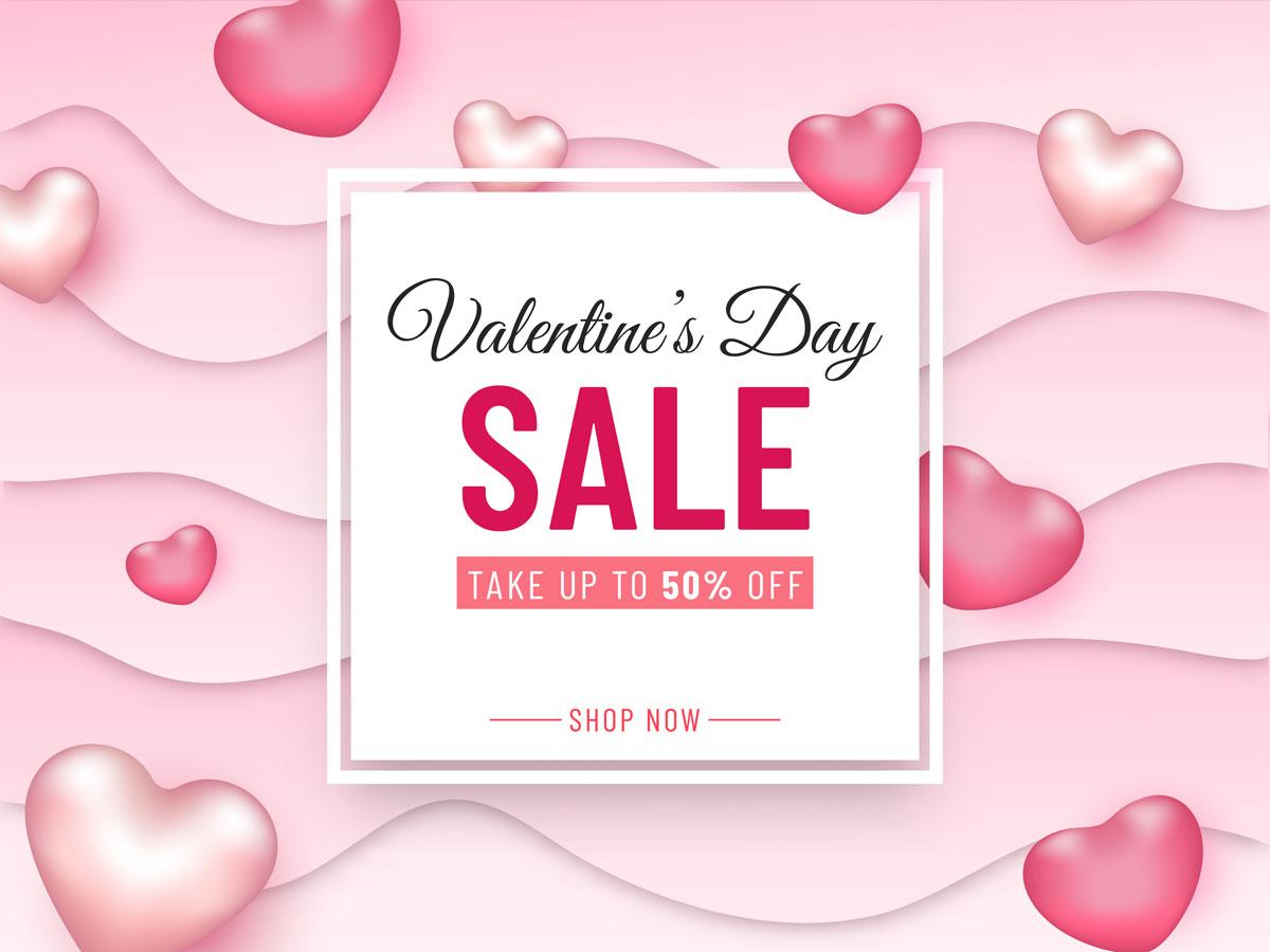 16款七夕节情人节爱心心形公益慈善海报传单AI设计素材 Valentines Day Love Promotion Poster插图13