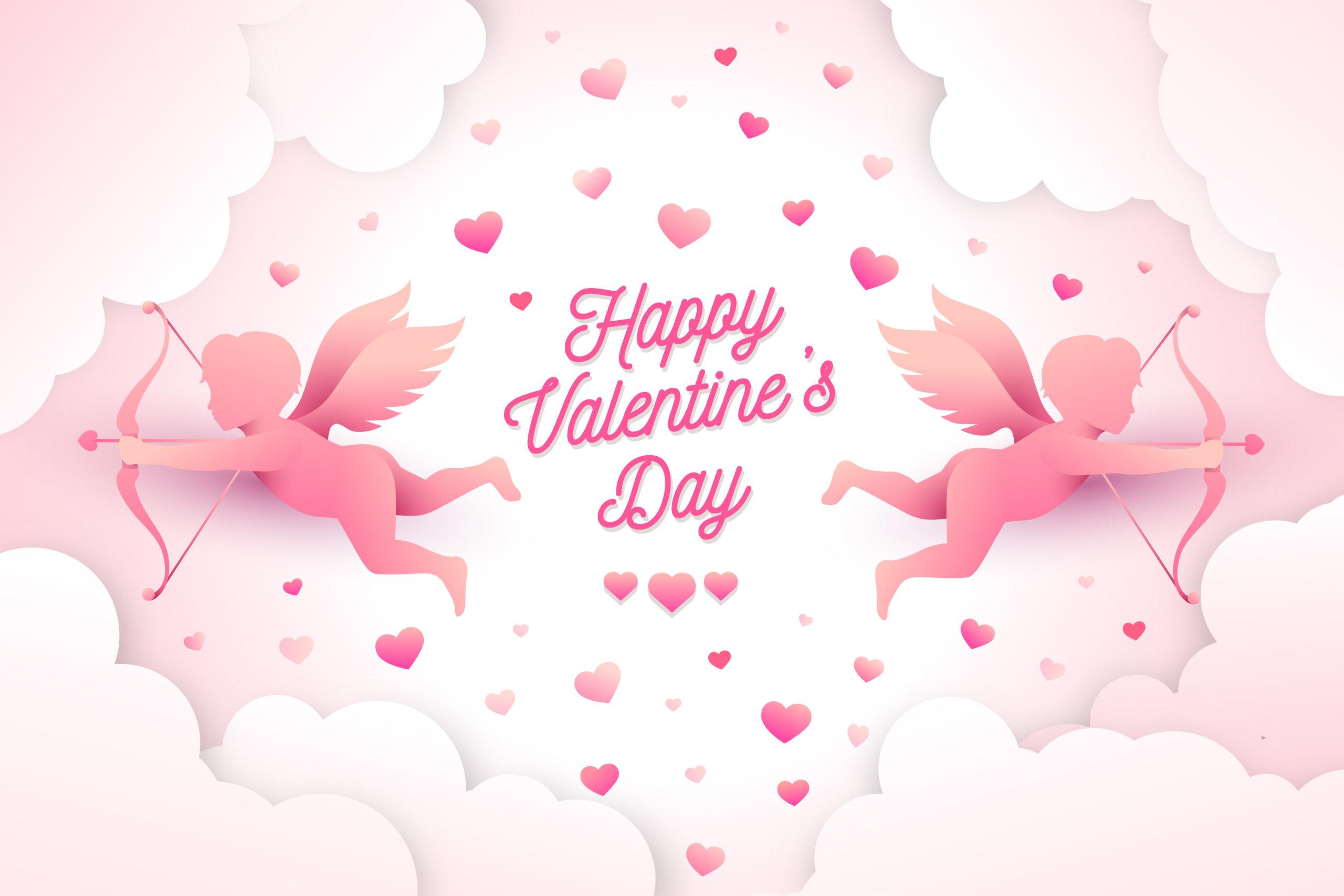 16款七夕节情人节爱心心形公益慈善海报传单AI设计素材 Valentines Day Love Promotion Poster插图5