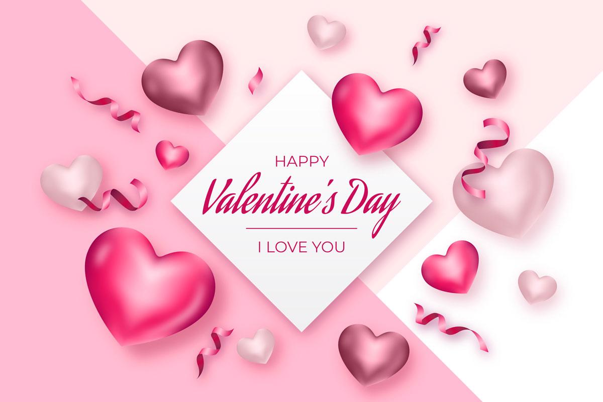 16款七夕节情人节爱心心形公益慈善海报传单AI设计素材 Valentines Day Love Promotion Poster插图14