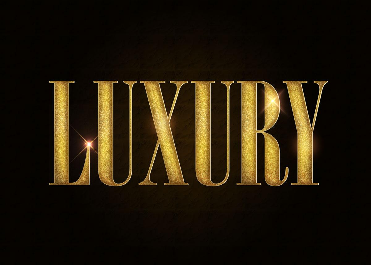 10款金色3D立体标题徽标Logo设计PS样式模板 Golden Decorative Text Styles插图3