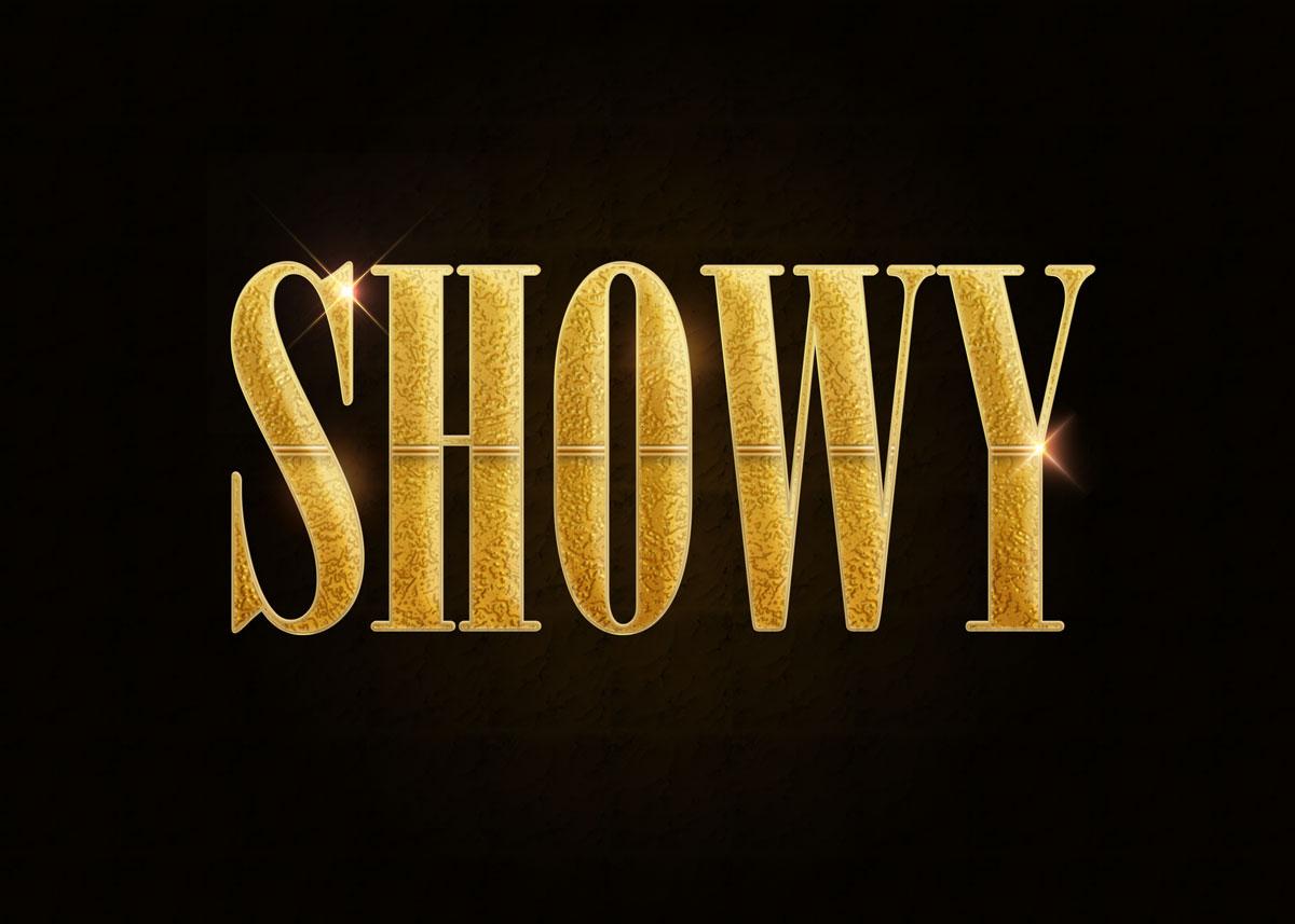 10款金色3D立体标题徽标Logo设计PS样式模板 Golden Decorative Text Styles插图6