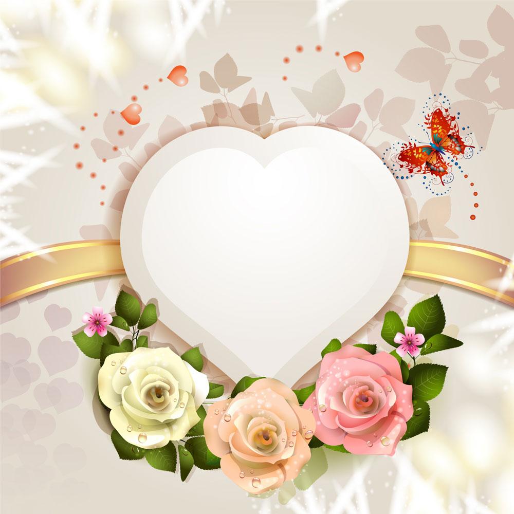 13款情人节七夕节爱心心形宣传海报设计AI矢量素材 Valentines Day Heart-shaped Vector Poster插图11