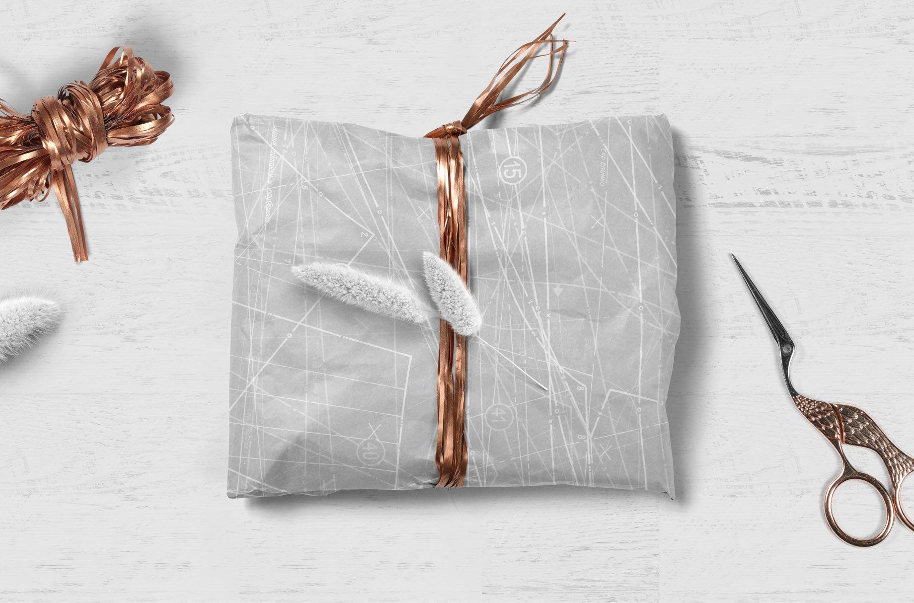 [单独购买] 60款潮流做旧粗糙图纸纹理海报设计背景底纹图片素材 Fabric Blueprint Textures插图7
