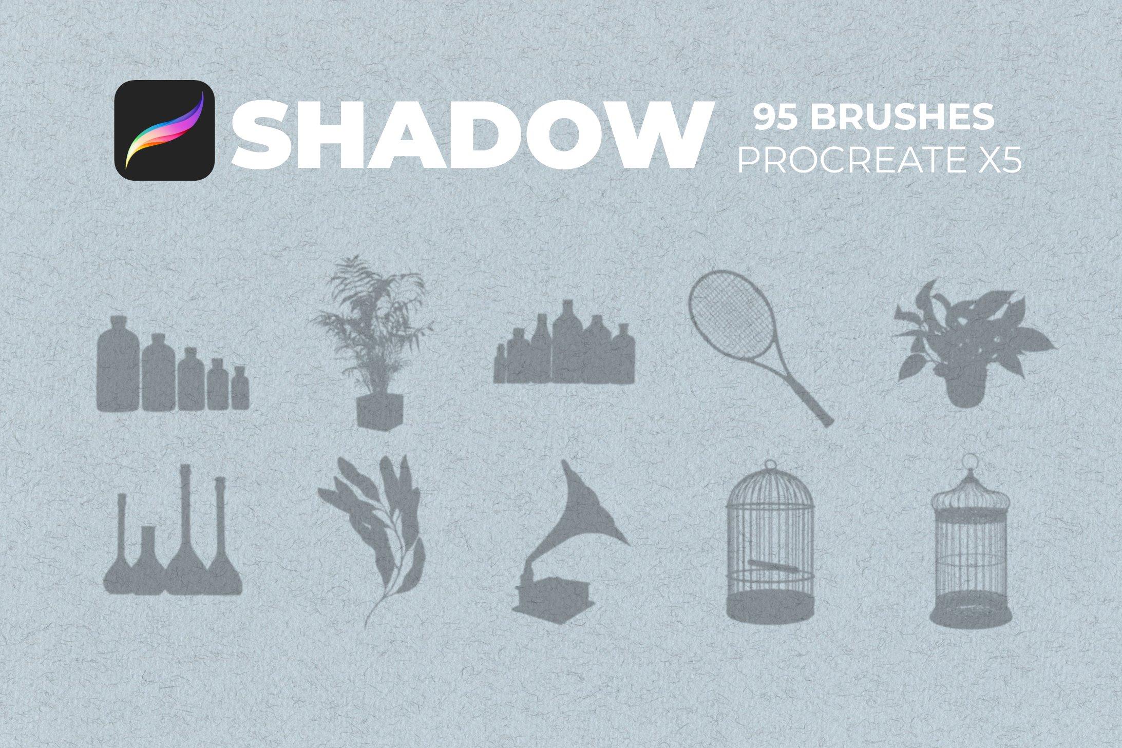 95款室内物品窗户自然阴影Precreate印章笔刷素材 95 Shadows For Precreate Brushes插图10
